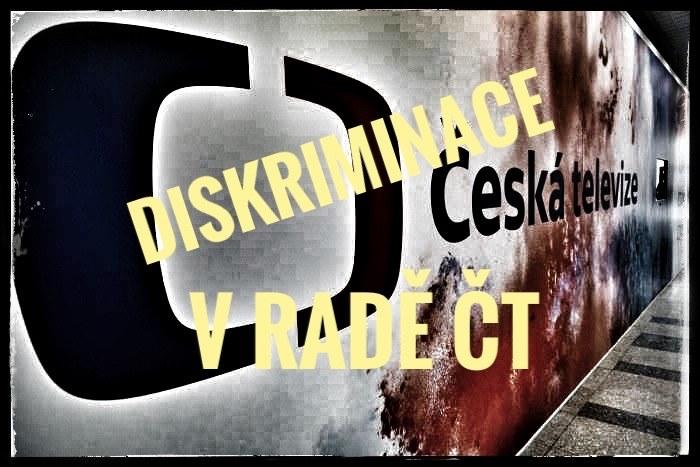 Diskriminační jednání Rady ČT